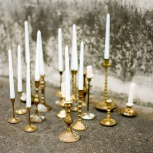 Brass candlesticks 02