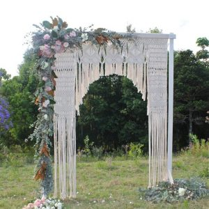 Macrame - wedding arch 02
