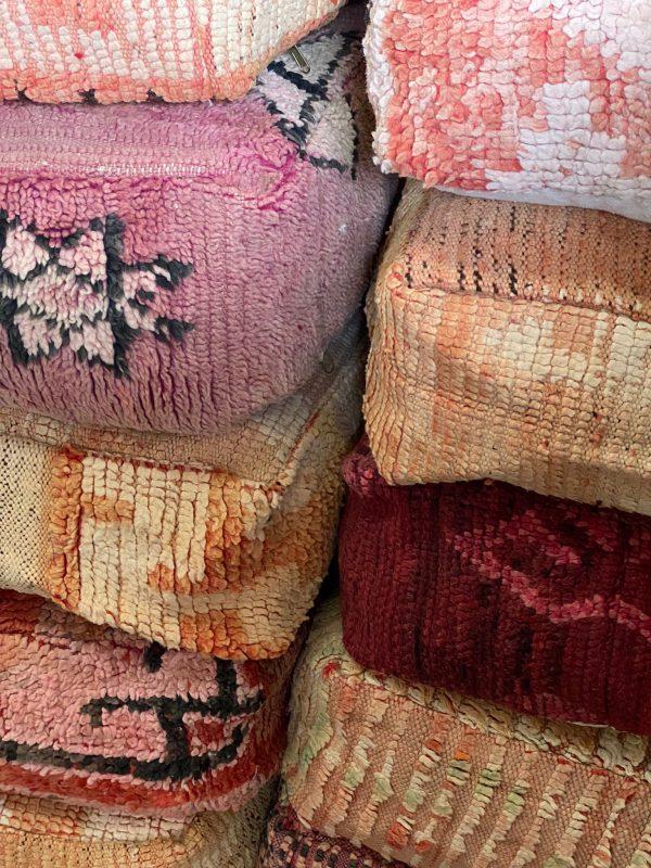 berber poefen aardetinten verhuur event styling