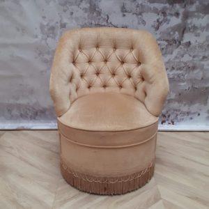 cocktailstoel beige
