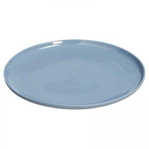 dinerbord blauw verhuur bruiloft diner tafelstyling servies