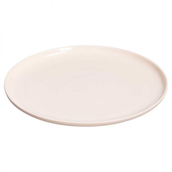 dinerbord lichtroze verhuur bruiloft diner tafelstyling servies