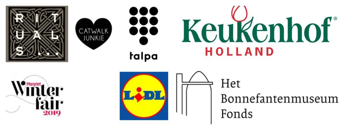 Logos bedrijven samenwerking Velvet Green