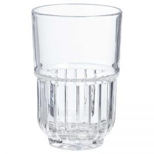 waterglas verhuur servies glazen bruiloft diner longdrinkglas