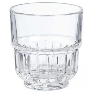 waterglas verhuur servies glazen bruiloft diner