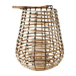 windlicht rotan bamboe lantaarn bruiloft event huur