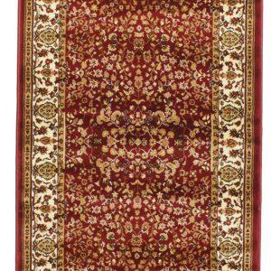Perzisch tapijt loper rood vintage bruiloft huur