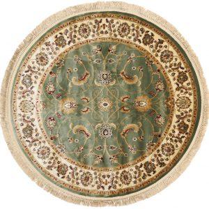 Perzisch tapijt rond groen verhuur bruiloft event
