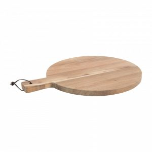 serveerplank acacia hout rond