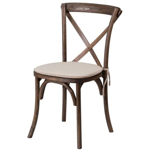 kussen stoel crossback chair huur